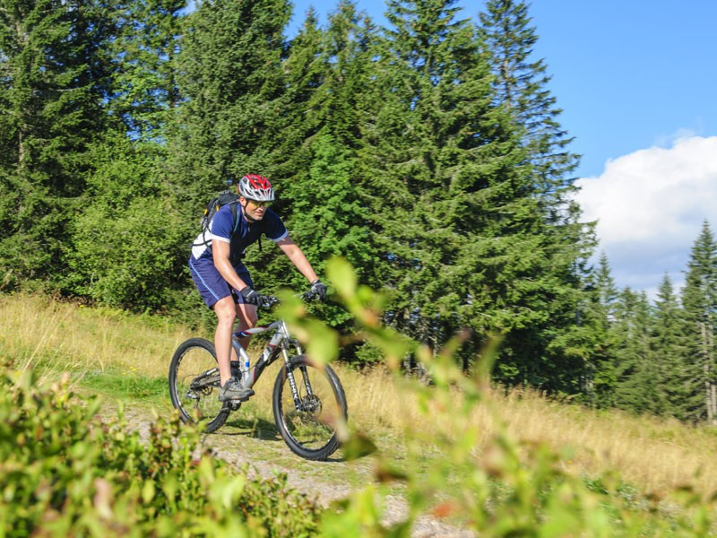 Mountainbiken im Chiemgau