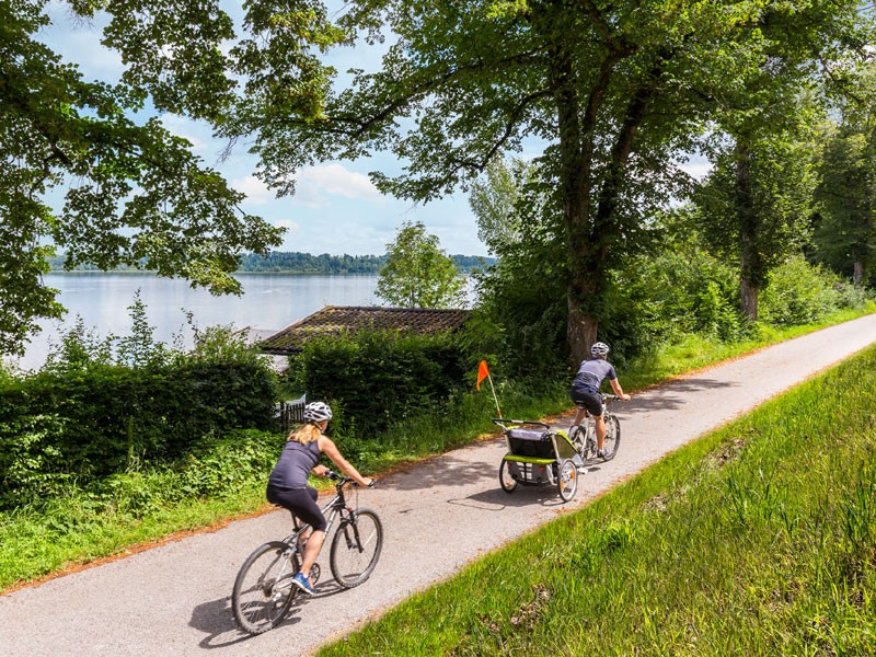 Familienradln am Waginger See